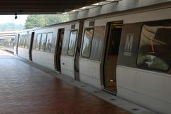 在华盛顿附近的dc地铁 免版税图库摄影