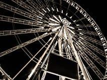 在协和广场的弗累斯大转轮在巴黎 图库摄影
