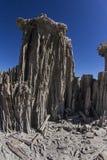 在单音湖的沙子凝灰岩 免版税图库摄影