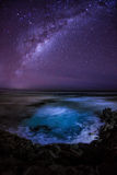在南冰洋的银河 澳洲 库存图片