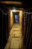 在南斯拉夫的内战使用的萨拉热窝隧道里面波黑期间 库存照片