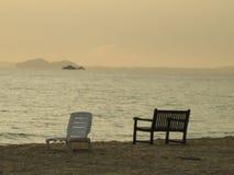 在南海的日出 免版税库存照片