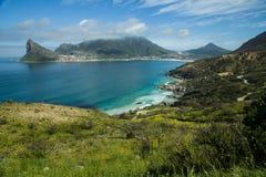 在南非的西开普省省的Hout海湾 免版税库存照片