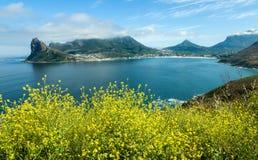 在南非的西开普省省的Hout海湾 库存图片