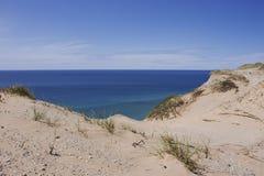 在南Manitou海岛上的沙丘 免版税库存图片
