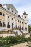 在南Moravian的Milotice大别墅在捷克 免版税图库摄影