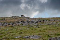 在博德明的阵雨突岩停泊 免版税库存图片