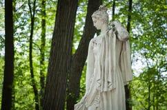 在博物馆储备Tsaritsyno的女神雕塑 库存图片