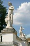 在博物馆庄园Arkhangelskoye (18世纪)的雕塑位于大约20公里对从莫斯科的西部 免版税库存照片