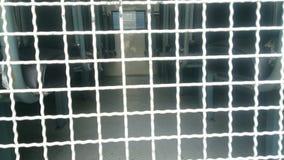 在卡车的监狱牢房 免版税库存图片