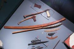 在卢克索博物馆-埃及的古老胳膊 免版税库存照片