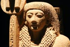 在卢克索博物馆-埃及的女王/王后雕象 库存图片