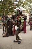 在卢卡漫画的Warcraft残暴的人和比赛2017年 库存照片