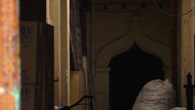 在印度大厦里面的通道,高知 股票视频