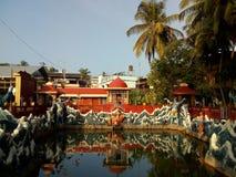 在印度寺庙的坦克 免版税图库摄影