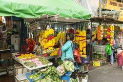 在印度文化的花 库存照片