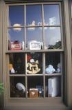 在历史的Michie小酒馆和磨房,蒙蒂塞洛,弗吉尼亚的水车 免版税库存图片