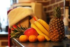 在厨房的不同的对象 免版税库存照片
