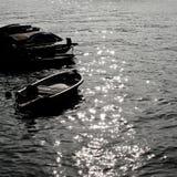 在反映海运的光 库存图片