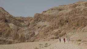 在发现死海纸卷的qumran的小山