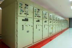 在发电站的控制器 免版税库存图片