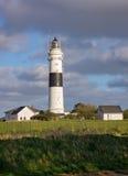 在叙尔特岛的灯塔 免版税库存图片