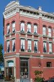 在口岸唐森,华盛顿的维多利亚时代建筑 库存照片