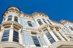 在口岸唐森,华盛顿的维多利亚时代建筑 库存图片