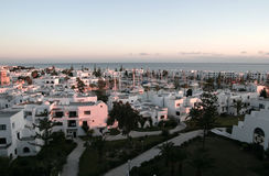 在口岸的种类在突尼斯 免版税库存图片