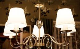 在古典样式的灯 免版税库存照片