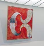 在古根汉的Hilma Af Klint展览 库存图片