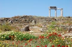 在古老世界的春天 免版税库存照片