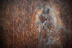 在古老橡木板条的结 图库摄影