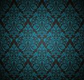 在古色古香的纸的传染媒介无缝的样式背景削减了纺织品、纸或者表面纹理的样式 库存例证