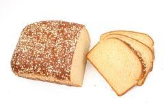 在可口蜂蜜麦子上添面包 库存图片