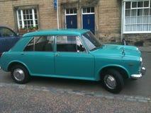 在可爱的情况的一辆1971年奥斯汀1100经典之作汽车 免版税库存图片