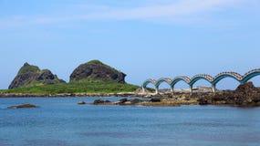 在台东县,台湾的风景区 免版税库存照片