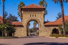 在史丹福大学,加利福尼亚,美国 图库摄影