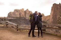 在史密斯岩石的允诺的生活方式画象 免版税图库摄影