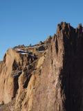 在史密斯岩石的雪 免版税库存图片