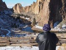 在史密斯的盛大看法晃动国家公园 免版税图库摄影