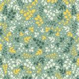 在叶子题材的色的样式 秋天样式 免版税图库摄影