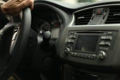 在司机的焦点 免版税库存图片