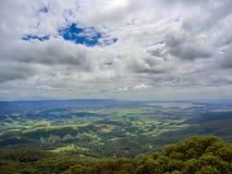 在吉亚马的看法在新南威尔斯,澳大利亚 免版税图库摄影