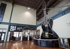 在吉布森吉他工厂的接纳地区在孟菲斯,田纳西 免版税图库摄影
