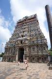 在吉登伯勒姆的Gopuram 免版税库存图片