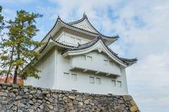 在名古屋城堡的东南塔楼 免版税图库摄影
