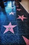 在名望好莱坞步行的查克・罗礼士星  免版税库存图片