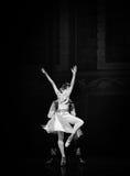 """在后面的芭蕾""""One一千和一Nights†的胜利 免版税库存照片"""