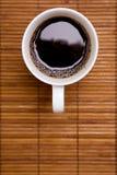 在咖啡之上 库存照片